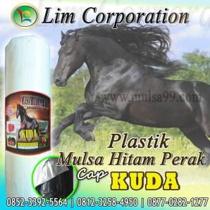 Mulsa Plastik Hitam perak Cap Kuda